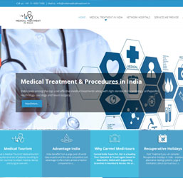Medical Tourism Website design