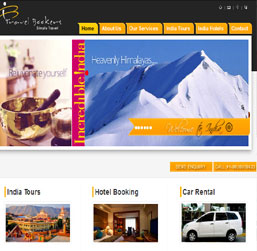 Mumbai Travel Agent Website design